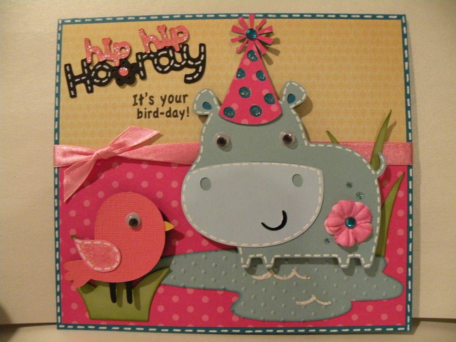 Cute Birthday Card Cricut Birthday Cards Pinterest Cards Simple Birthday Cards