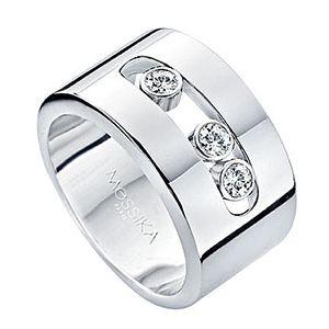 le dernier abc95 5b9cf Bague Move en Or Blanc et Diamants de Messika | bijoux en ...