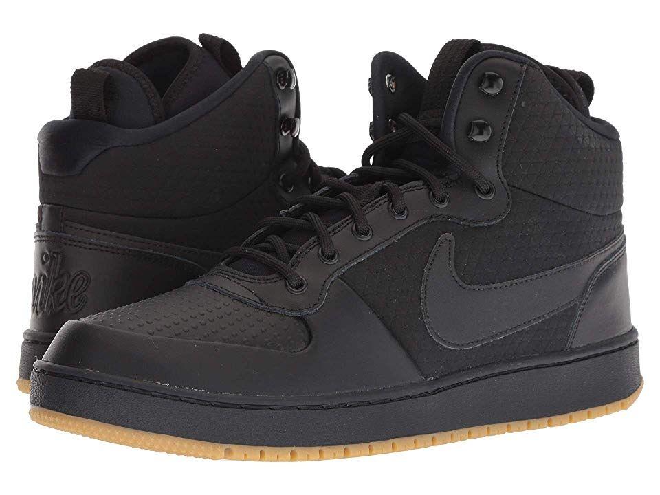 Nike Ebernon Mid Winter (Black/Black