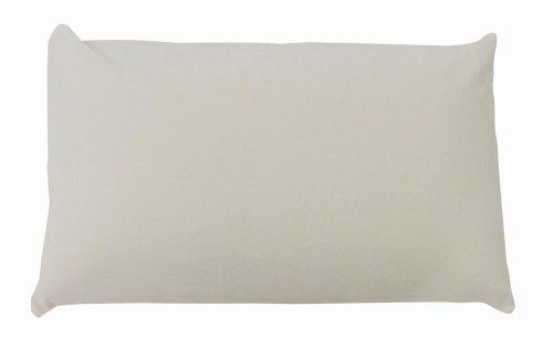 Caress Latex Pillow in White (King: 16 L x 4.5 W x 4.5 H) | Reungit Store