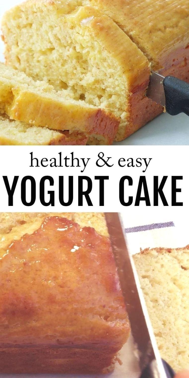 1-Bowl Healthy Yogurt Cake