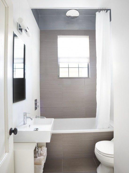 kleine badkamer - t wit huizeke | Pinterest - Kleine badkamer ...