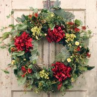 Belmont Silk Door Wreath 22 Inch Wreaths For Front Door Silk Flower Wreaths Spring Door Wreaths