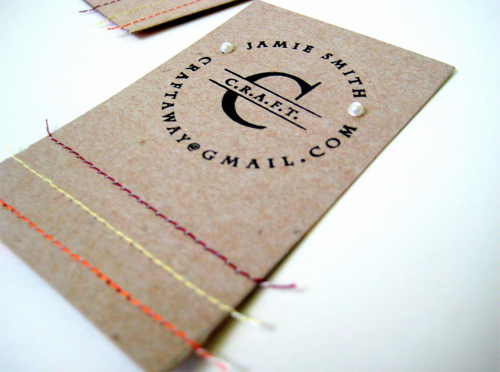 love the diy business cards made from cereal boxes creative colourmoves Choice Image