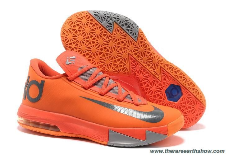 Discounts Nike Zoom KD 6 Total Orange Armory Slate
