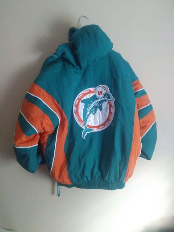 huge selection of 5906e b2977 Vintage 90s Dolphin Starter Jacket | Products in 2019 ...