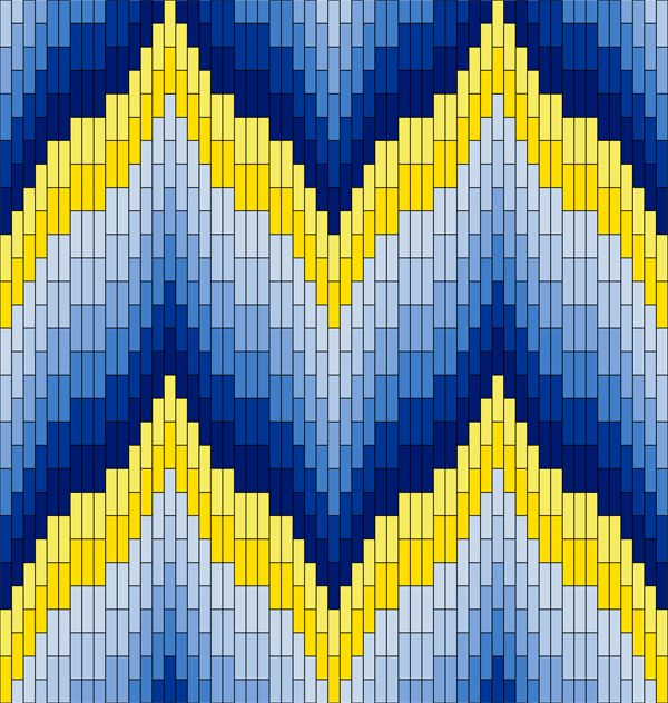Textile Arts Now: Bargello Patterns                              …