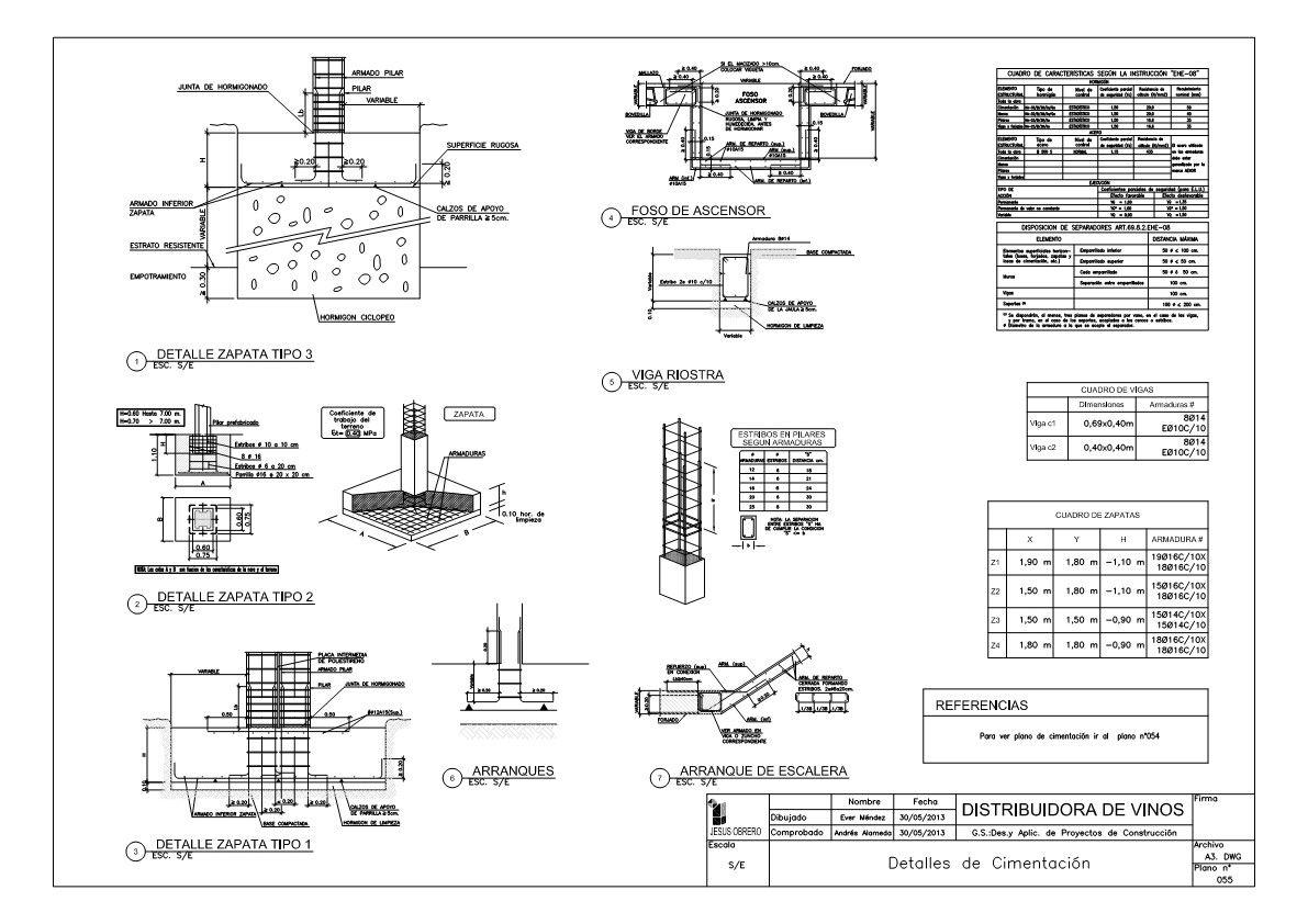 055 detalles cimentacion distribuidora de vinos pinterest architecture for Garden pavilion crossword clue