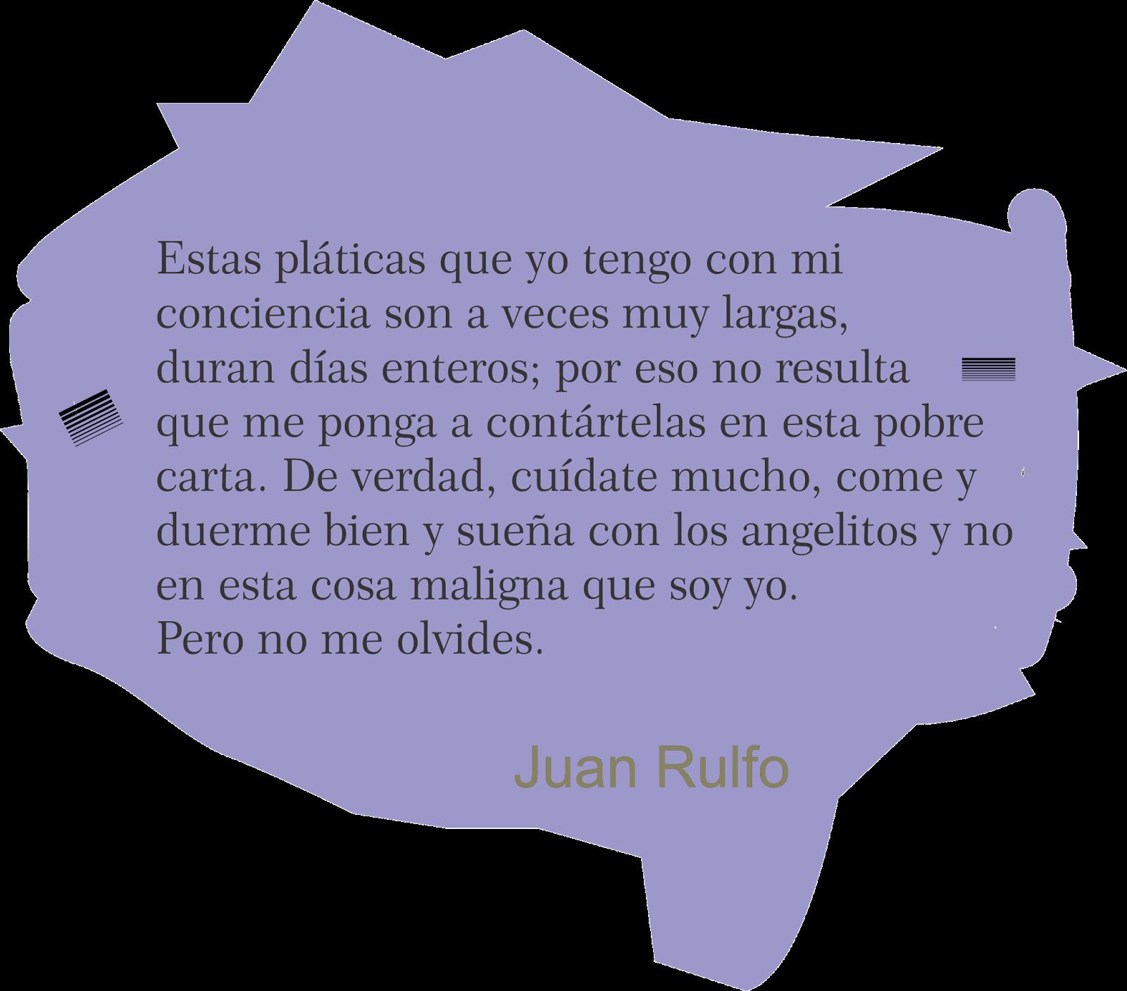 Frases bonitas y versos de amor RULFO CARTA CARTAS A CLARA