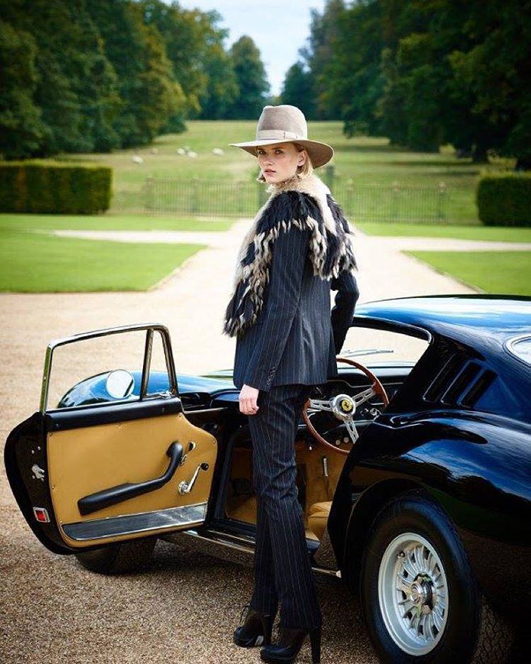 «Elegant arrival: the Fall '15 RL Collection against the backdrop of England's Althorp House»
