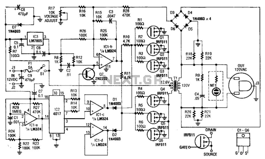 Pin on Inverter Circuits