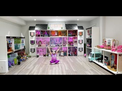 HUGE AMERICAN DOLL HOUSE TOUR *UPDATED 2019* - YouTube #americandolls