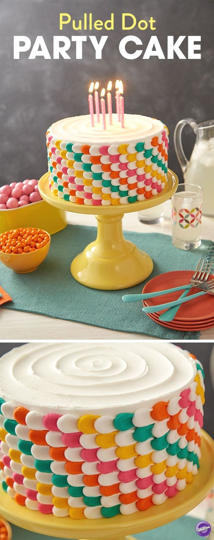Simple Round Cake Decorating Ideas Simplecakedecorating With