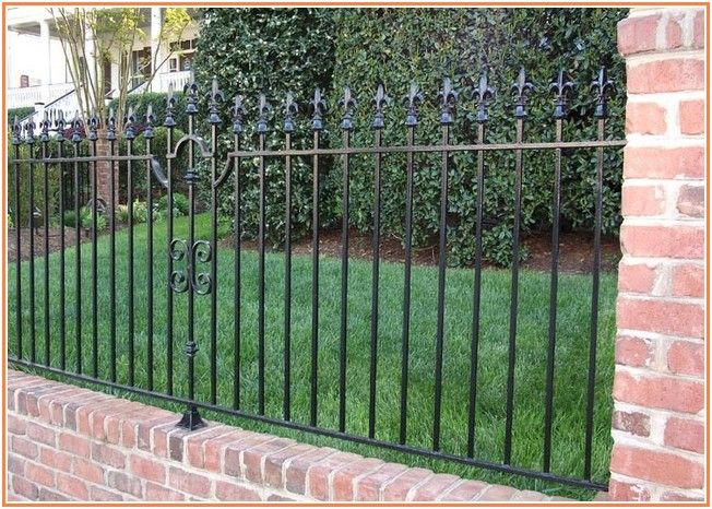 Unusually Wrought Iron Fence Houston Iron Fence Wrought Iron