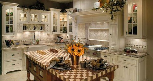 Country French Kitchen  Custom Cabinets Custom Kitchen Cabinets Brilliant French Kitchen Design Review