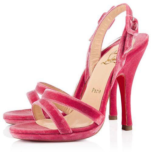 red bottom shoes, Christian Louboutin Fine Romance 120mm