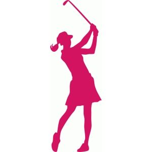 Female Golfer Silhouette Games To Play Make Pinterest Golf