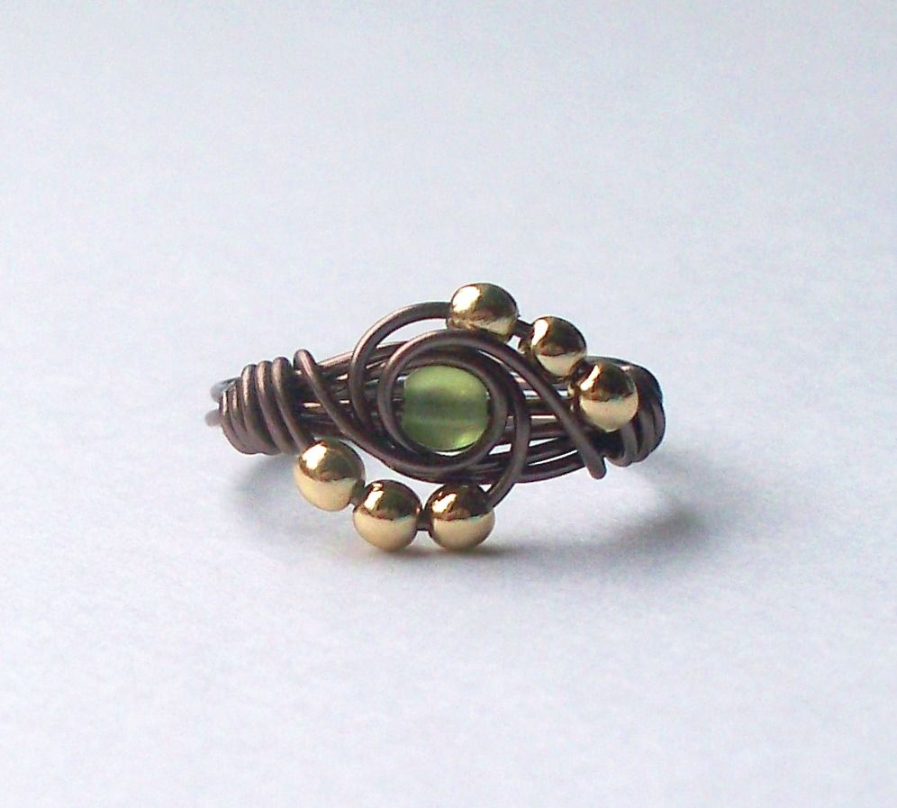 wire wrapped ring instructions Links to several tuts | Jewel of my ...