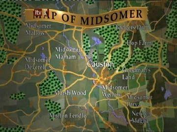 midsomer england karte Midsomer Murders   Map of Midsomer | Midsomer Murders