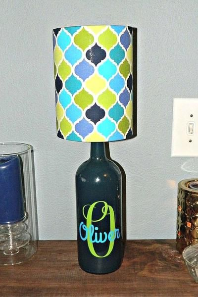 How To Transform A Wine Bottle Into A Beautiful Lamp Bottle Lamp