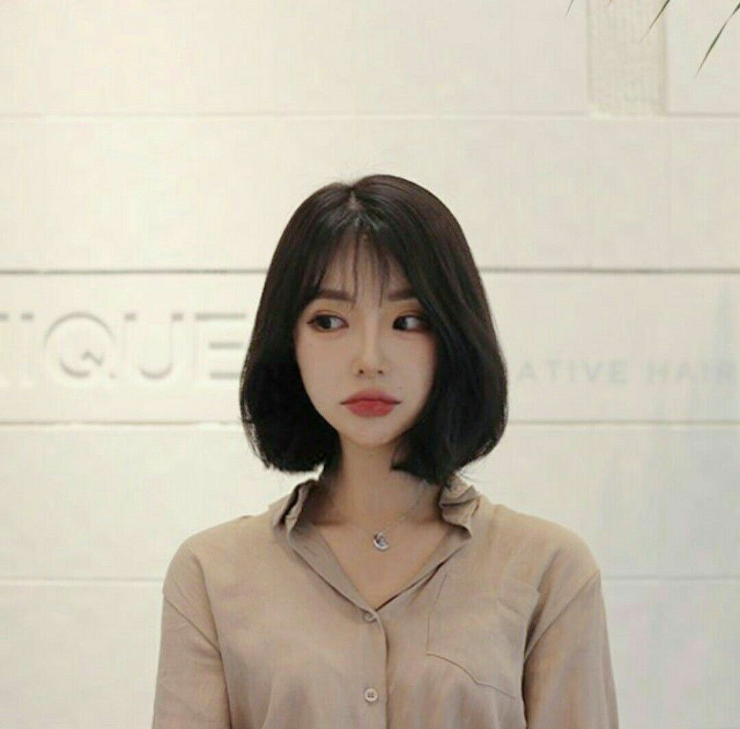 ✿*· pinterest ⇢ kimmiecla | Ulzzang short hair, Asian short hair, Short hair  with bangs