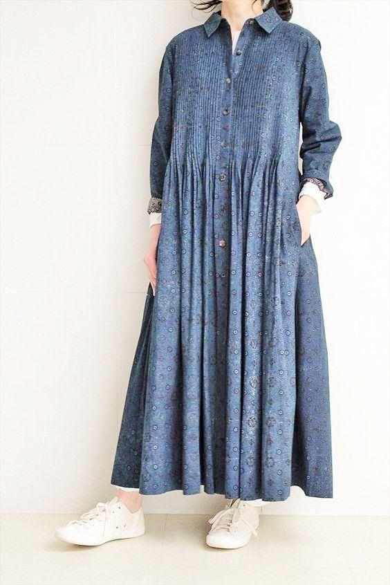 5317d3d519fc source   pionik.com (nadia grazhdan)   collection mode robe tunique large  bleu