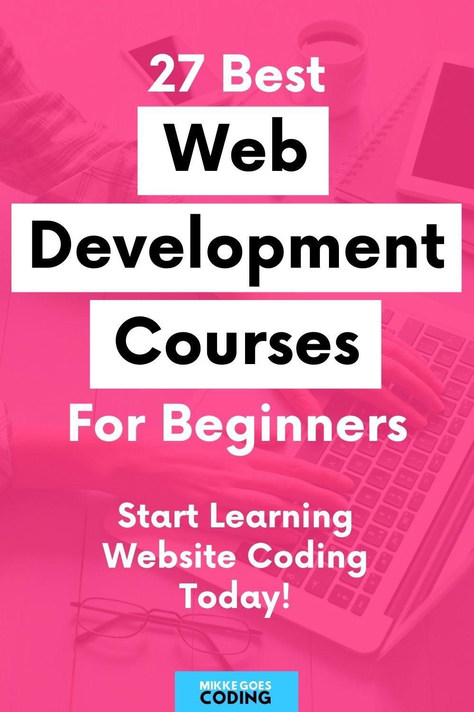 27 Best Web Development Courses for Beginners in 2020
