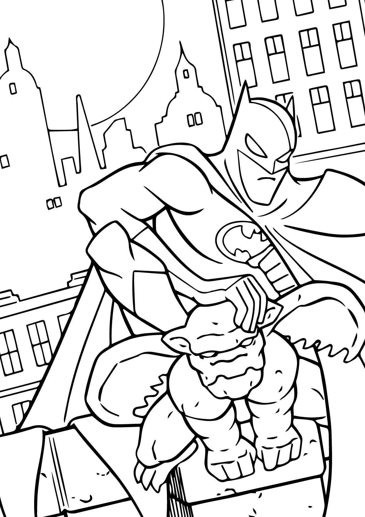 Pin by M Coloring Page on Mcoloring   Batman coloring ...
