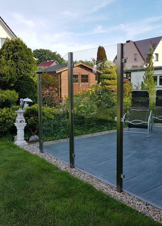 Der Windschutz Feng schützt Sie auf Ihrer Terasse Garten Pinterest