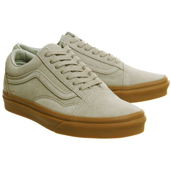 c5d35e45cad Vans supplied by Office Vans Old Skool Trainers (£60) ❤ liked on Polyvore