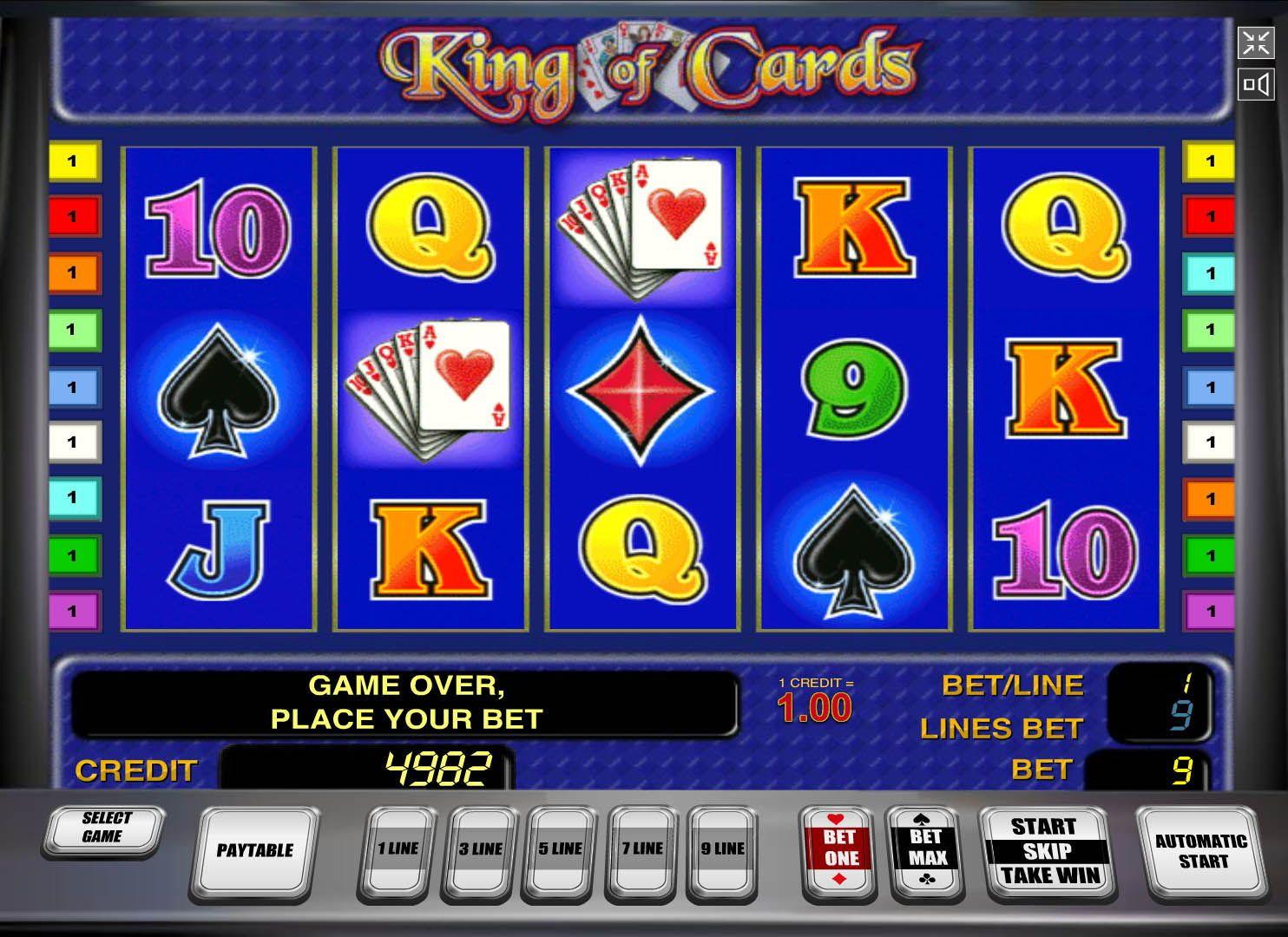 Играть карты кинга онлайн без регистрации казино платье 193