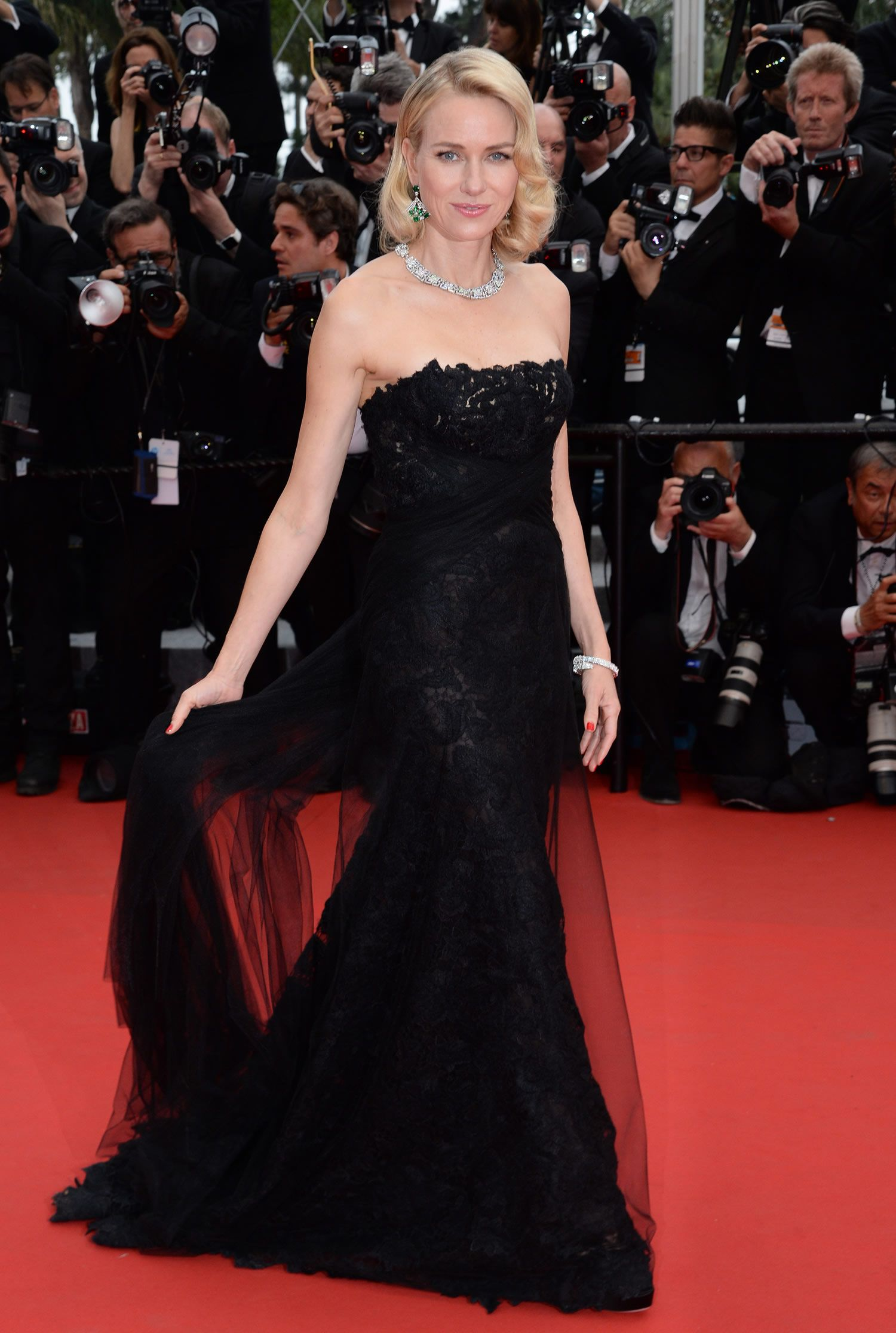 Naomi Watts in Ralph Lauren Gown at Mad Max: Fury Road Premiere at 2015 Cannes Film Festival