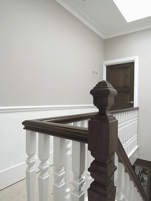 Best Mahogany Handrail French Polished To Walnut Oak Doors Handrail Mahogany 400 x 300