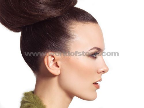 profile of a womans face
