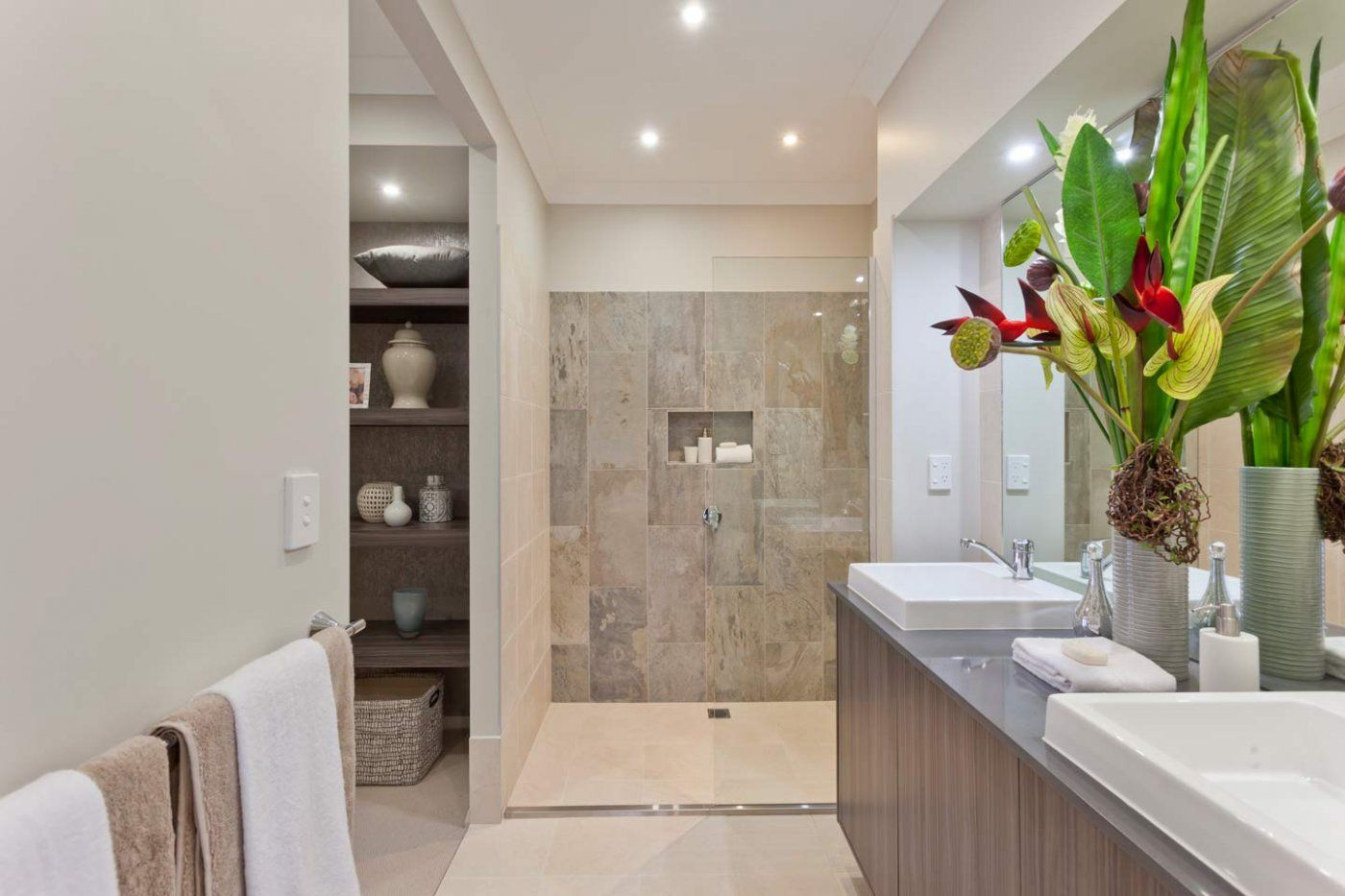 Love those tiles in the ensuite of the master bedroom in the love those tiles in the ensuite of the master bedroom in the sandalford design by mcdonald jones homes exclusive to canberra on display at 6 bonarba link dailygadgetfo Images