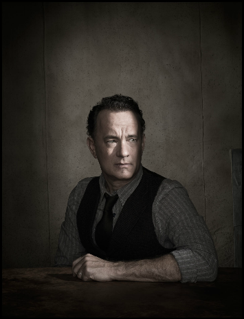 Tom Hanks - Photographed by Dan Winters. This is my favorite portrait of anyone. The lighting is incredible.