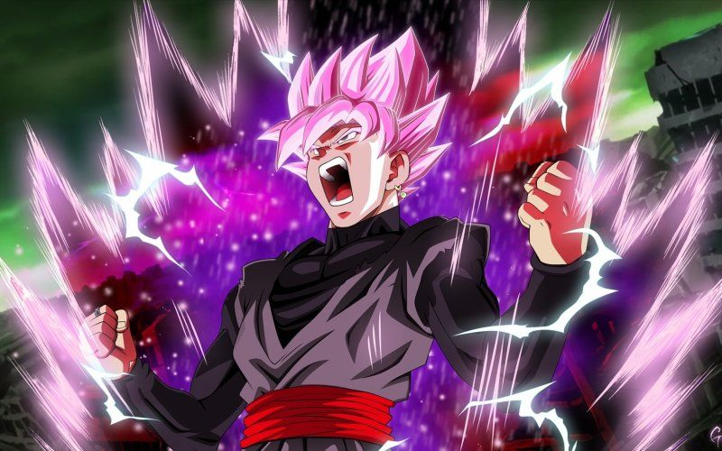 Wallpaper Black Dragon Ball Artwork Anime Dragon Ball Super Goku Black Dragon Ball Wallpapers
