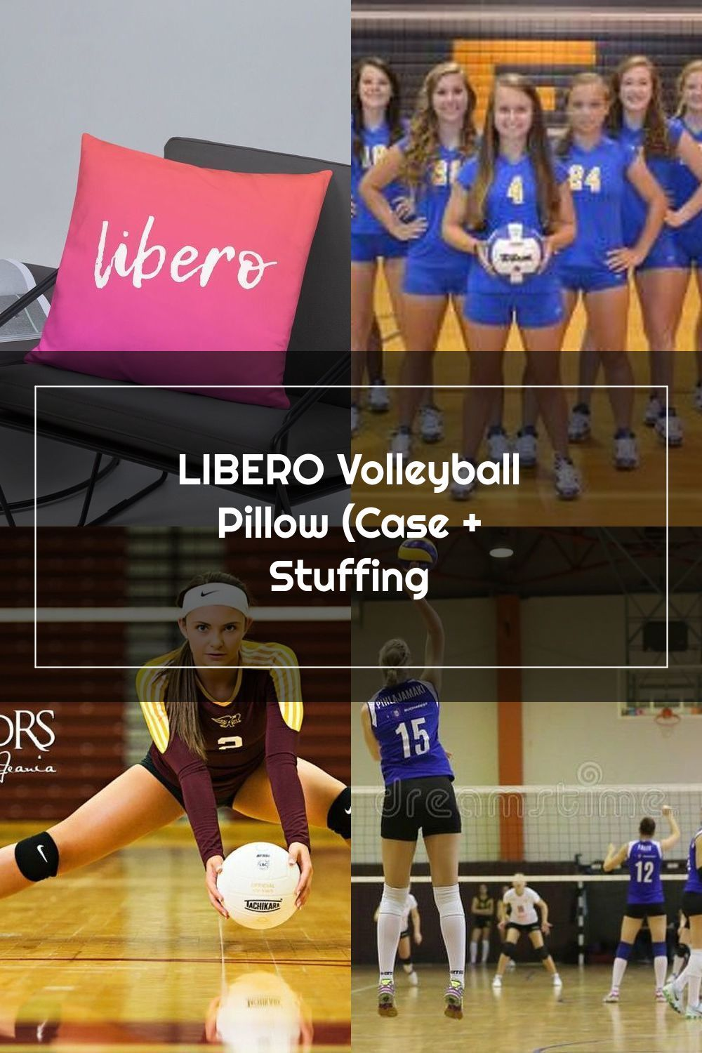 Libero Volleyball Pillow Case Stuffing In 2020 Libero Volleyball Volleyball Pictures Volleyball