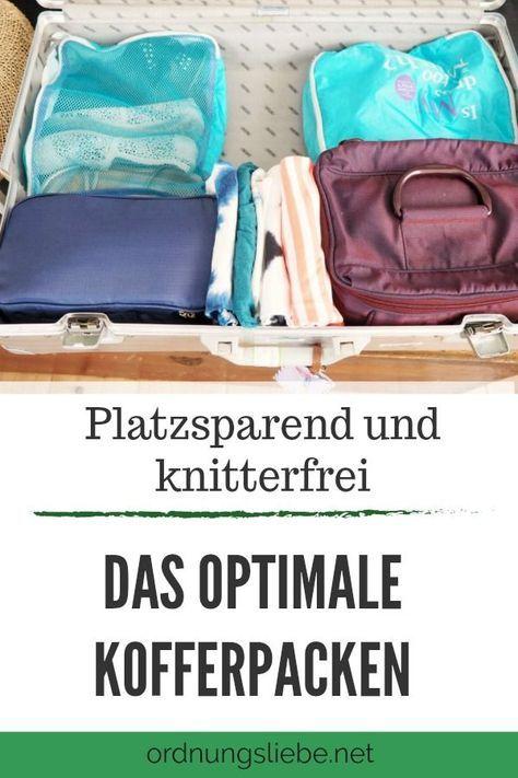 tipps zum kofferpacken ordnungsliebe reisefieber 12. Black Bedroom Furniture Sets. Home Design Ideas