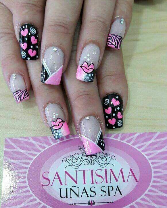 Pin by Cinthya Vargas Ramirez on uñas | Pinterest | Manicure