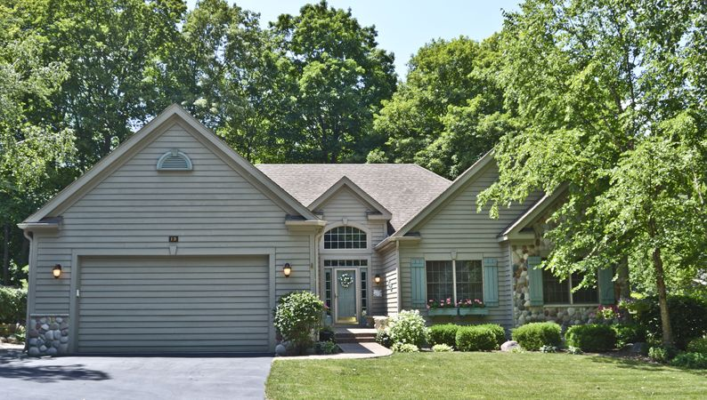 13 Abbey Springs Dr Fontana WI - Perfect for a vacation home or a year round residence. 5 bdrm, 3 bath on the golf course in Abbey Springs listed by the Melges Team!