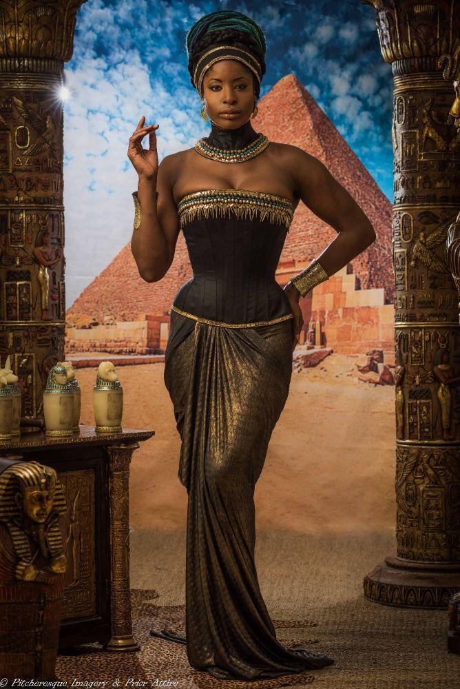 Egyptian corsetry collection corset: Nefertiti