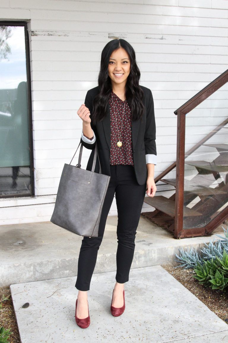 6 Outfits With a Printed Top for Work, Polished Casual Outfits, & Dates