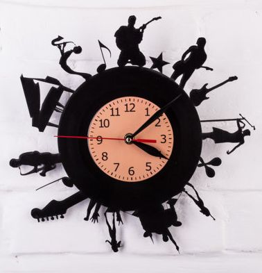 20 Crafty Uses For A Laser Engraver And Cutter Ap Lazer Clock Design Clock Wall Decor Vinyl Record Projects