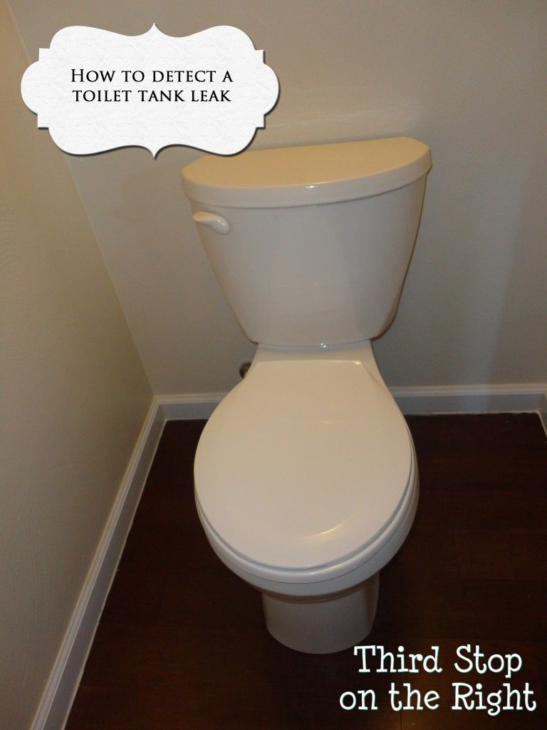 High water bills could be a leaking toilet like ours