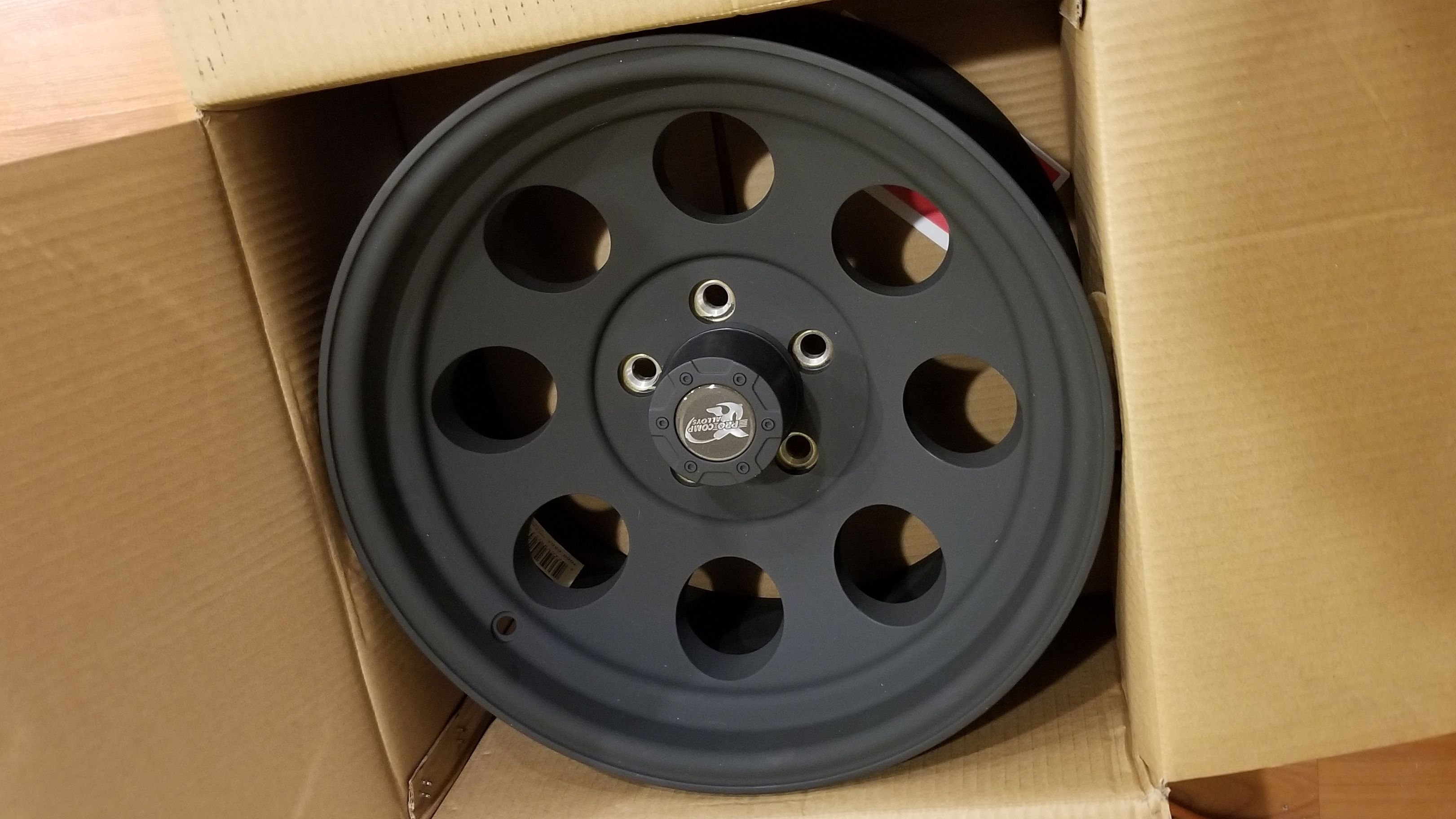 This Week I Received My Pro Comp Series 7069 16x8 Wheel With 5 On 4 5 Bolt Pattern Flat Black Machined 7069 6 Bolt Pattern Jeep Patriot Sport Jeep Patriot