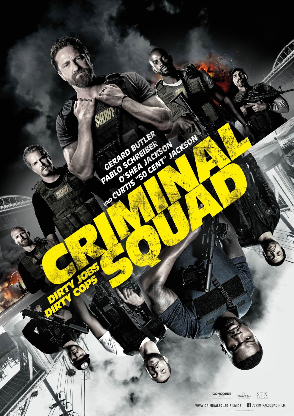 Criminal Squad Mit Gerard Butler Ab 01 Februar 2018 Im Kino Movie Fun Films Complets Gratuits Films Complets Film A Voir