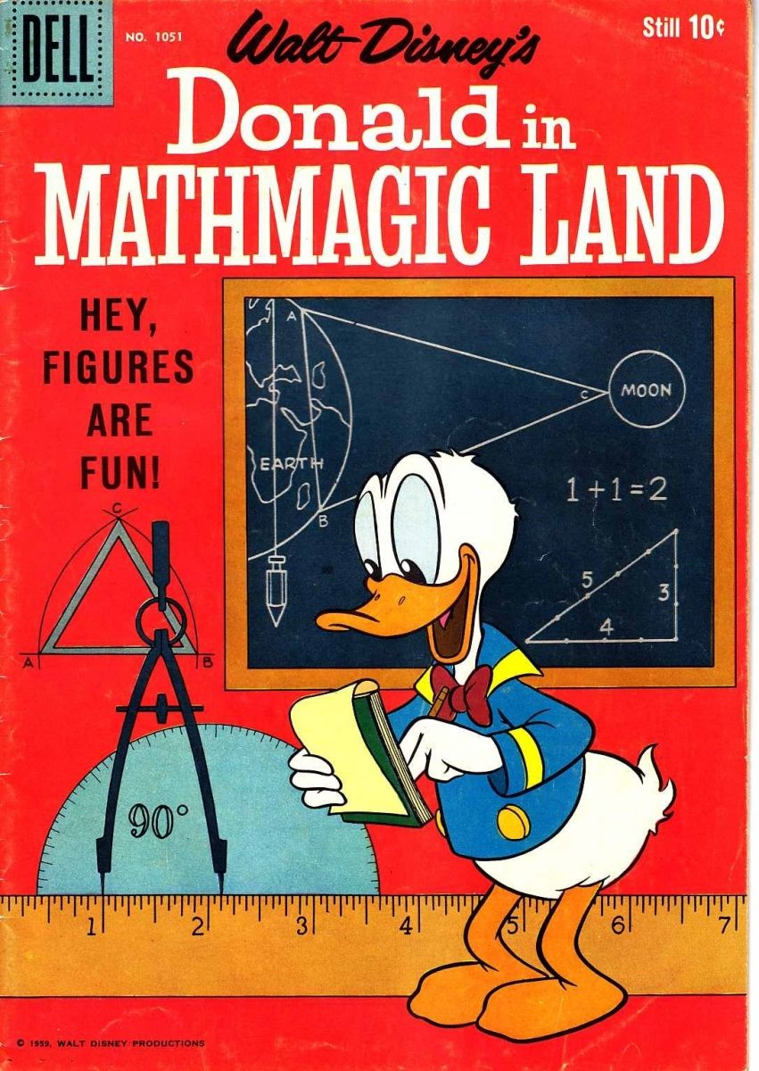 Mathematical Treasure Donald In Mathmagic Land Mathematical Association Of America Kids Math Worksheets Timed Math Drills Math Addition Worksheets