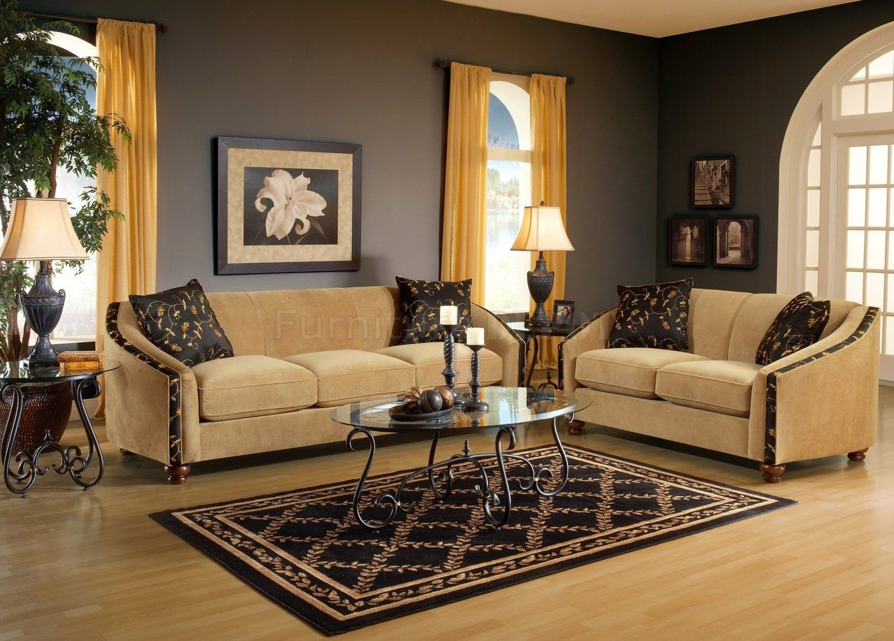 Best Living Room Mustard And Chocolate Brown Living Room 400 x 300