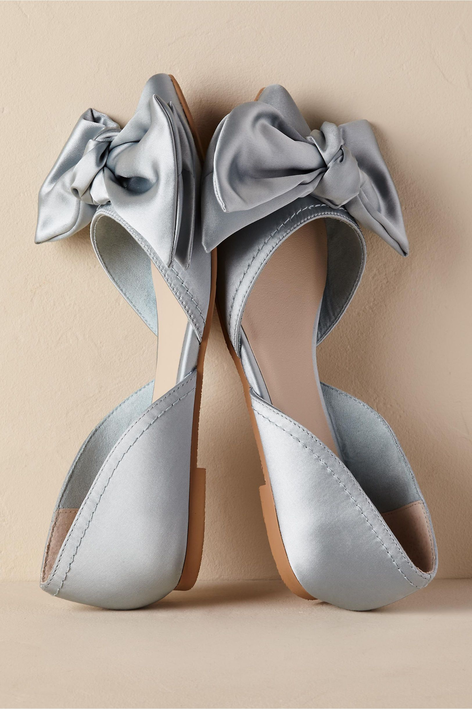 BHLDN Into the Blue Flats Sky in Shoes   Accessories  21b7ecf86aa2